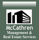 McCathren Management and Real Estate Services logo.